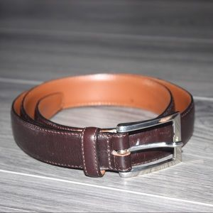Brooks Brothers Brown Leather Belt